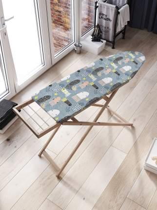 JoyArty Чехол для гладильной доски «Медуз постигло счастье» с синтепоном (136х50 см)