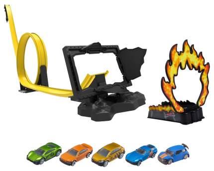 """Игровой набор Teamsterz """"Большая трасса Street Smash с 5 машинками"""" HTI"""