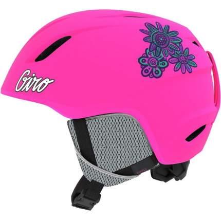 Горнолыжный шлем детский Giro Launch 2019, розовый, XS/S