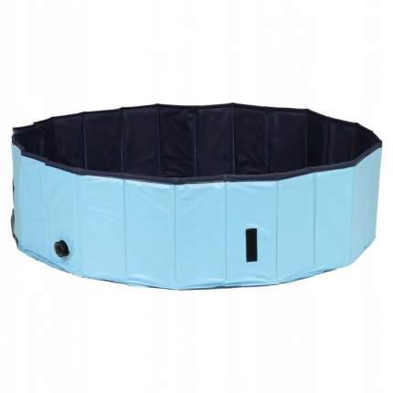 Бассейн для собак TRIXIE Dog Pool, сине-голубой, 80х80х20 см