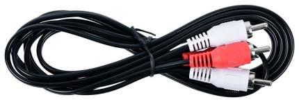 Кабель Cablexpert 2RCA - 2RCA, 1,8м Black (CCA-2R2R-6)