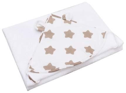 Полотенце детское с уголком AmaroBaby Cute Love Прянички, 90х90 см