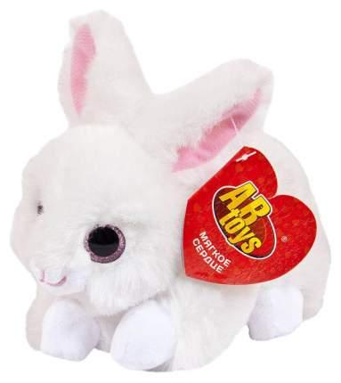 Кролик белый, 15 см игрушка мягкая