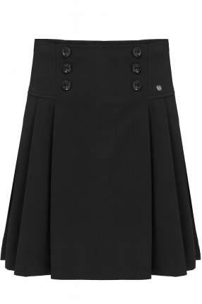 Юбка для девочки Finn Flare, цв. черный, р-р. 146