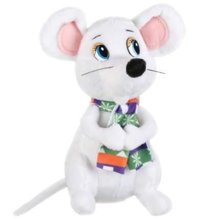 """Игрушка мягкая """"Мышь в шарфе"""", 18 см"""