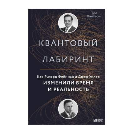 Книга квантовый лабиринт. как Ричард Фейнман и Джон Уилер Изменили Время и Реальность