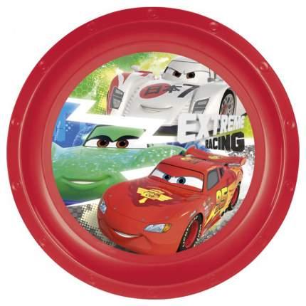 Набор пластиковой посуды из 3-х предметов Stor Тачки. Грани гонок тарелка, миска, стакан