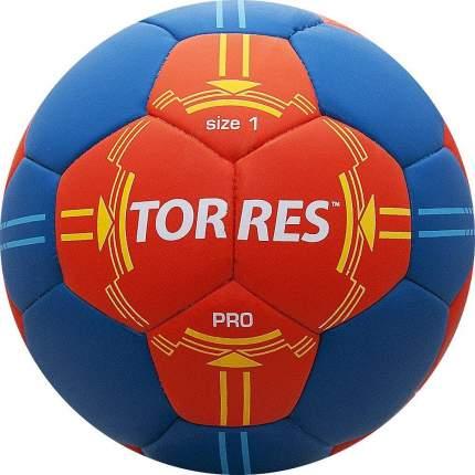 Мяч гандбольный Torres Pro, 1, красный/синий