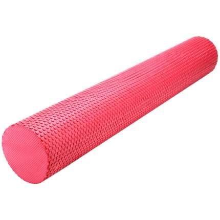 B31603-3 Ролик массажный для йоги красный 90х15см.