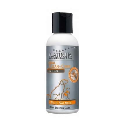 Гель для полости рта собак и кошек Platinum Wild Salmon 3-в-1, 120 мл