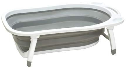 Ванночка пластиковая Funkids Folding Smart Bath серый