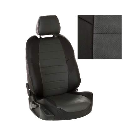 Чехлы на сиденья модельные экокожа Daewoo Matiz с 97-15г. G BK/D.GY / da-ma-ma-chets-e
