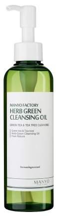 Средство для очищения Manyo Factory Herb Green Cleansing Oil 200 мл
