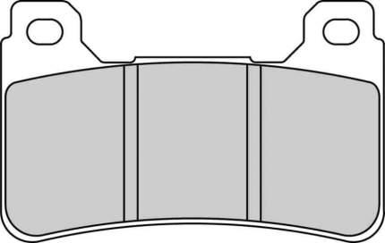 Тормозные колодки передние Ferodo FDB2181ST для мотоциклов