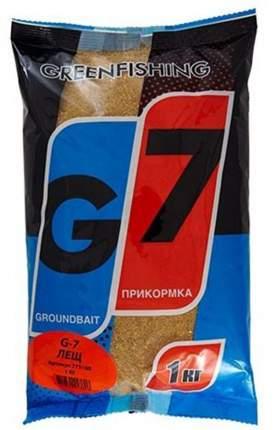 Прикормка Gf G-7 для ловли леща, 1 кг, ваниль