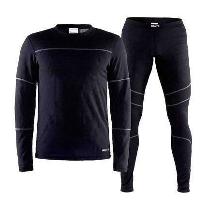 Комплект Craft Baselayer, black, L