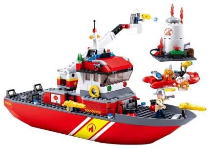Конструктор пластиковый Sluban Корабль Пожарный M38-B0630 429 деталей
