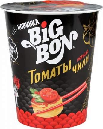 Лапша быстрого приготовления BigBon томаты чил  85 г