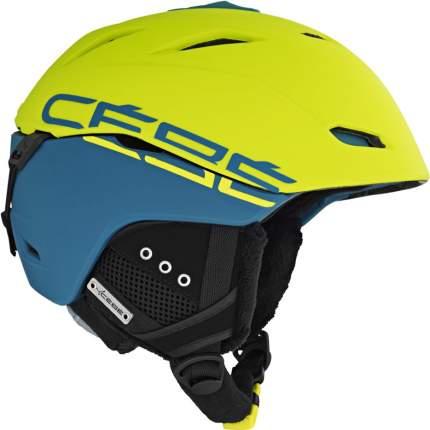 Горнолыжный шлем мужской Cebe Atmosphere Deluxe 2017, зеленый, S