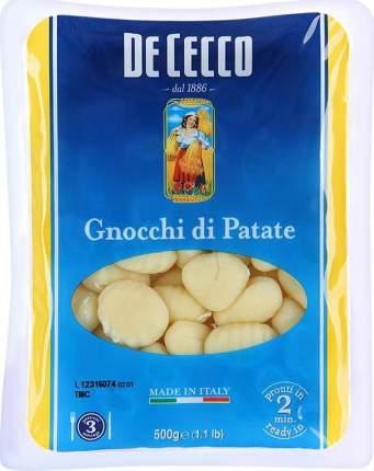 Картофельные клецки De Cecco gnocchi di patate ниоки 500 г