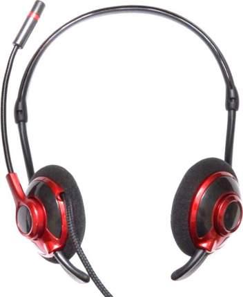 Гарнитура для компьютера Dialog M-480HV Red/Black