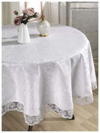 Скатерть KARNA LEDA 2793 Круглая цвет Белый