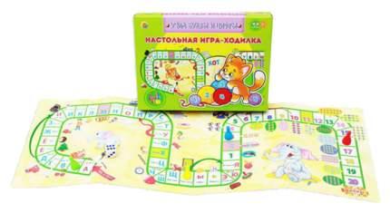 Семейная настольная игра Рыжий кот Учим буквы и цифры