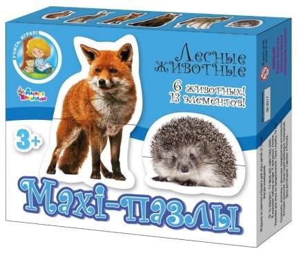Пазл Десятое Королевство Учись играя Лесные животные 02643ДК
