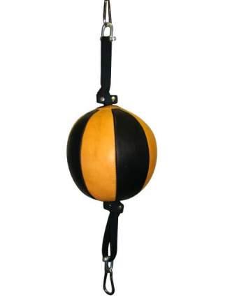 Боксерская груша Харламов-Спорт ГПРК26 черно-желтая