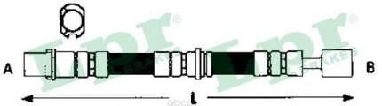 Шланг тормозной Lpr 6T47902