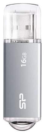 USB-флешка Silicon Power Ultima II-I 16GB Silver (SP016GBUF2M01V1TB6)