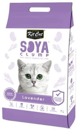 Комкующийся наполнитель туалета для кошек Kit Cat SoyaClump Soybean Litter Lavender 7 л