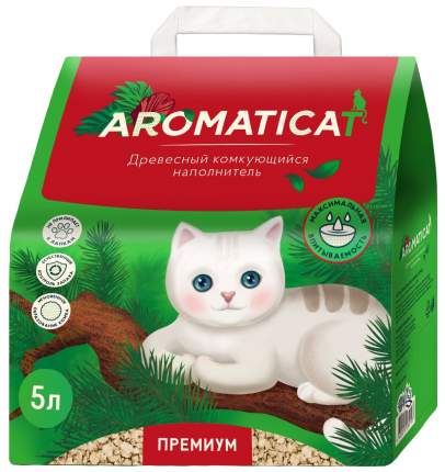 Комкующийся наполнитель туалета для кошек Aromaticat ACDK5