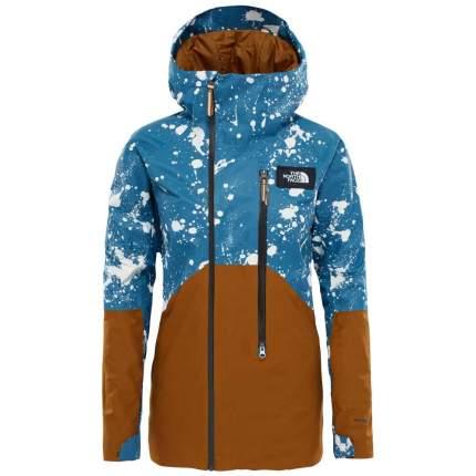 Куртка The North Face Struttin, monterey blue jacquard splatter print, XS INT