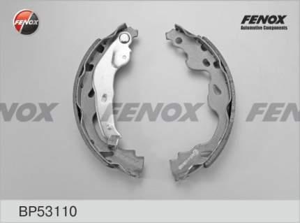 Тормозные колодки барабанные FENOX BP53110
