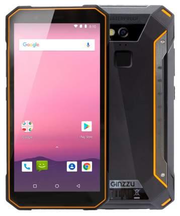 Смартфон Ginzzu RS9602 DUAL 16Gb Black/Orange