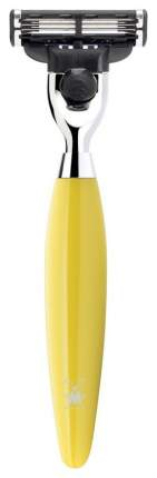 Станок для бритья MUEHLE KOSMO Mach5 Смола лимонного цвета