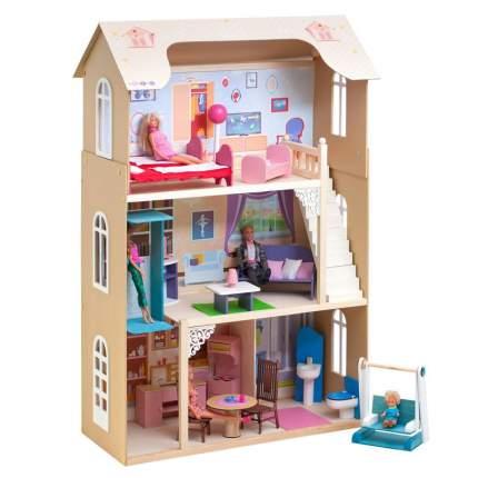 Кукольный домик Paremo грация с мебелью