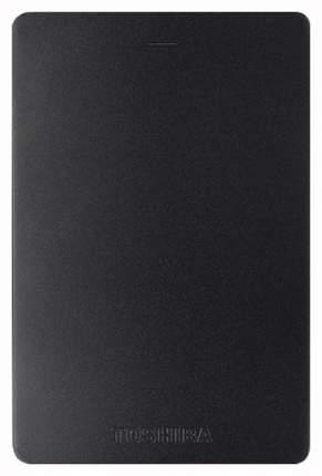 Внешний диск HDD Toshiba Canvio Alu 1TB Black (HDTH310EK3AB)