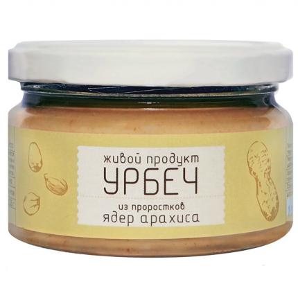 Урбеч Живой продукт из проростков арахиса 225 г