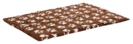 Коврик для кошек и собак ProFleece полиэстер, шоколад, крем, 160x100 см