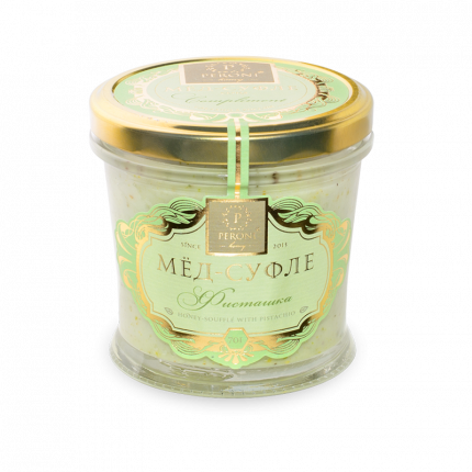 Мед-суфле Peroni Honey фисташка  250 г