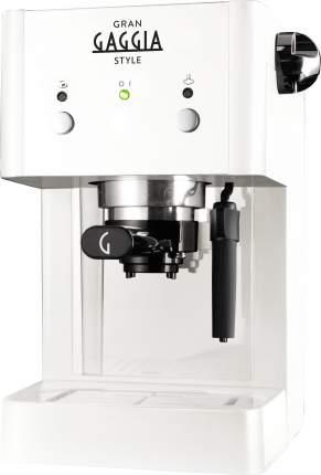 Рожковая кофеварка Gaggia Gaggia Gran Style RI8423/21 White
