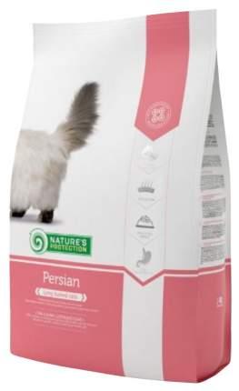Сухой корм для кошек Nature's Protection Persian, персидская, домашняя птица, 0,4кг