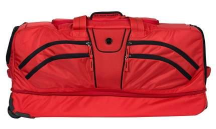 Спортивная сумка Six Pack Fitness Fitness Alpha Duffle черно-красная
