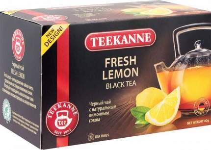 Чай черный Teekanne fresh lemon 20 пакетиков