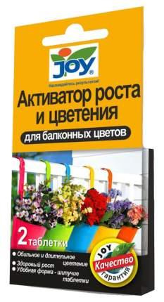 Активатор роста и цветения для балконных цветов JOY, 2 табл