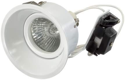 Встраиваемый точечный светильник Lightstar Domino Round 214606 Белый