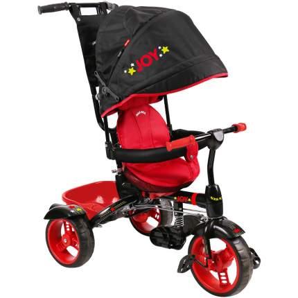 Велосипед трехколесный Nika ВД4/1 черный с красным