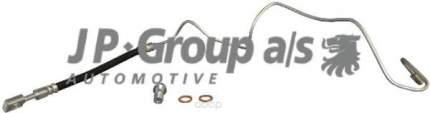 Шланг тормозной системы JP Group 1161500280 задний правый